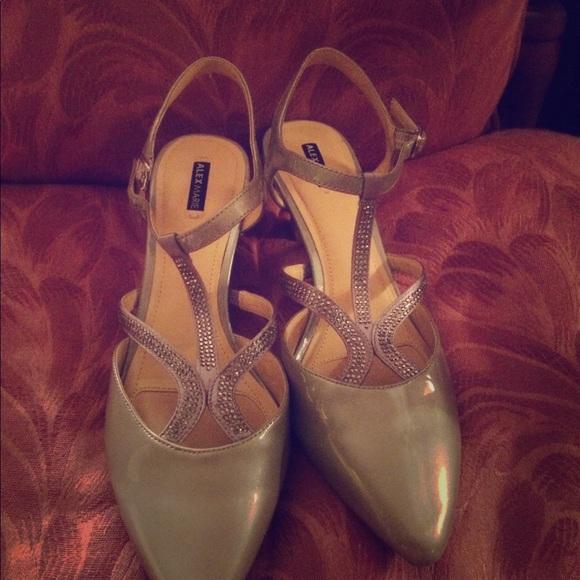bf0ab7b960e Alex Marie shoes pumps evening prom club 9 1/2